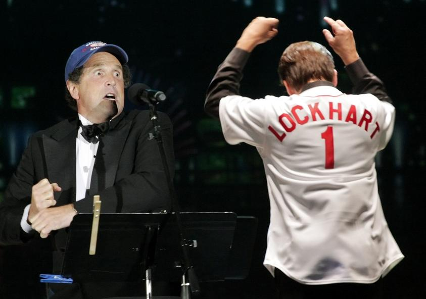 Kissel onstage w Keith Lockhart at